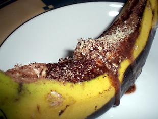 grilled choco banana