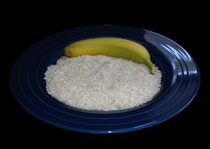 banana on rice