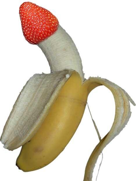 Horny banana